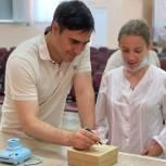 Дмитрий Хубезов встретился со студентами медицинского колледжа