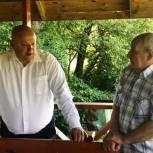 Андрей Красов обсудил с жителями Сасовского района вопросы развития социальной инфраструктуры на селе