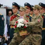 Владимир Вшивцев принял участие в открытии Военно-исторических сборов «Бородино 2021»