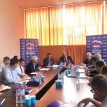 Региональное отделение партии отчиталось о проделанной работе