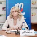 Наталья Дикусарова: «Семейный стандарт» дворовых территорий поможет обеспечить детей комфортными площадками