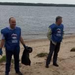 В Мариинском Посаде партийцы убрались на берегу Волги