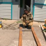 Дом уссурийской пенсионерки оборудовали элементами доступной среды