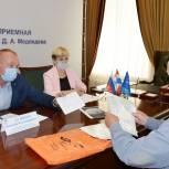 Прием граждан в РОП провел депутат Пермской гордумы Василий Кузнецов