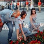 В Орехово-Зуевском округе партийцы присоединились к акции «Свеча памяти»