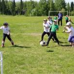 В Крапивинском округе прошли соревнования по мини-футболу