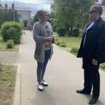 Владимир Вшивцев посетил детский сад № 7 в Осташево Волоколамского городского округа