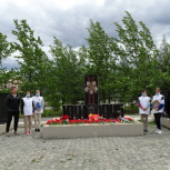 Акции ко Дню памяти и скорби прошли в Армани и Омсукчане