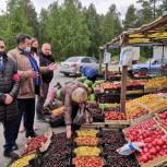 Народные контролёры Ноябрьска провели рейд по плодовоовощным ярмаркам города