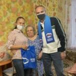 Николай Токарчук высоко ценит труд соцработников и продолжает помогать пенсионерам ⠀