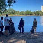 Пермские активисты очистили от мусора берега реки Мулянки