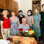 Яна Куприна поздравила Ивана Михайловича Белова с 90-летием