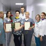 В день защиты детей Анастасия Реброва поблагодарила сотрудников энгельсского перинатального центра за их работу