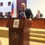 Артур Таймазов избран секретарем Северо-Осетинского реготделения «Единой России»