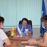 Спикер Госсовета Чувашии Альбина Егорова провела приём граждан