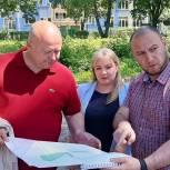 Новый сквер в Московском районе Рязани обустроят комплексно