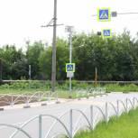 В Рязани завершился ремонт дороги на улице Березовой