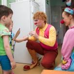 Единороссы устроили сюрприз для маленьких пациентов кузбасской больницы