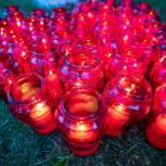 Акцию «Свеча памяти» у мемориала в Солманово провели одинцовские партийцы