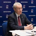Андрей Климов провел встречу с послом Казахстана Ермеком Кошербаевым