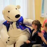 «Единая Россия» передала более полутонны гуманитарной помощи центру поддержки семьи и детства «Планета семьи»