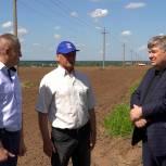 Воскресенские единороссы посетили аграрное предприятие «Родина»