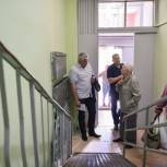 Тарас Ефимов поддержал инициативу жителя Балашихи по модернизации пандуса в подъезде многоквартирного дома