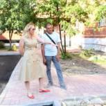 В Рязани проводится благоустройство дворовых территорий