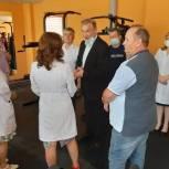 Депутат Госдумы передал тренажеры в Ульяновский областной центр профпаталогии