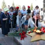 Митинги памяти и скорби прошли в Еткульском муниципальном районе