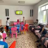 Депутаты оборудовали мебелью детские комнаты реабилитационного центра в Махачкале