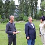 Николай Панков посетил строительные площадки в Балаково