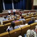 Андрей Голубев подарил учреждениям культуры Озёр современные акустические системы