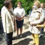 Ирина Слуцкая провела встречу с жителями города Пушкино