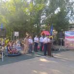 В Кизляре открыли две обновленные дворовые территории
