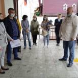 Андрей Красов встретился с коллективами школ Советского района Рязани