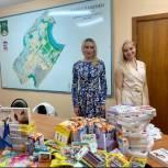 Единороссы Раменок передали подарки для ребят с ограниченными возможностями здоровья