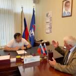 Депутат Народного Собрания РД Муртазали Рабаданов провел прием граждан в Приемной «Единой России»