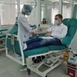 «Единая Россия» проводит донорские акции в регионах