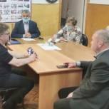 Владимир Шапкин рассказал щелковским ветеранам войны об итогах работы за пять лет