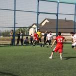 Ко Дню молодежи в Казбековском районе прошел турнир по мини-футболу