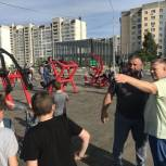 Панков: Все за здоровьем в первый в России народный фитнес-парк!