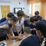 Татьяна Ильюченко провела Олимпийский урок для несовершеннолетних нарушителей