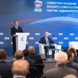Дмитрий Медведев: «Единой России» нужно критически оценить проделанную работу и подготовить новую программу с учетом нового опыта и задач