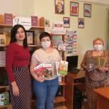 В рамках всероссийской акции Регина Юдина передала книги русских классиков в библиотеки Вольского района