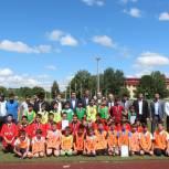 «Единая Россия» организовала детский турнир по мини-футболу в Назрани