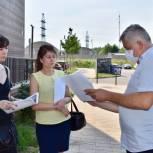 Тарас Ефимов проверил ход строительства многоуровневого паркинга в ЖК «Измайловский лес» в Балашихе