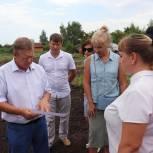 В Хвалынске продолжается обустройство земельных участков для многодетных семей