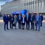 Началось голосование на съезде партии «Единая Россия»