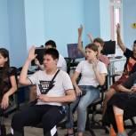В Волжском единороссы провели викторину по энергосбережению для детей